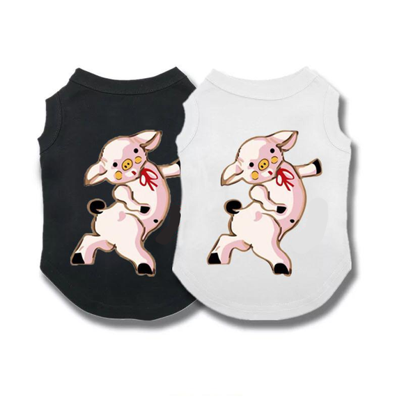 Dancing Piglet Sleeveless Tee