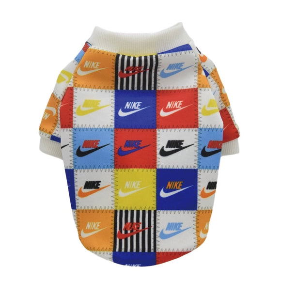 Swooshie Patchwork Sweater