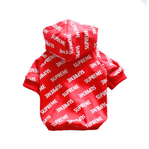 S'preme All Over Logo Hoodie