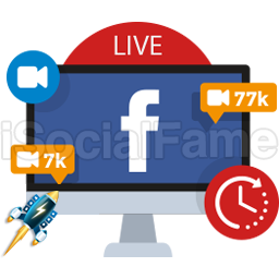 Future Scheduled - Real Active Facebook LIVE Viewers