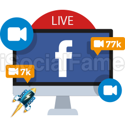 Real Active Facebook LIVE Viewers