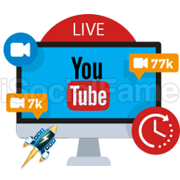 Future Scheduled - Real Active YouTube Live Viewers