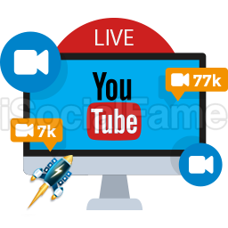 Real Active YouTube Live Viewers