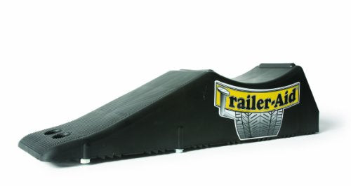 Trailer-Aid Tandem Tire Changing Ramp, The Fast and Easy Way To Change A Trailer's Flat Tire, Holds up to 15,000 Pounds, 4.5 Inch Lift (Black)