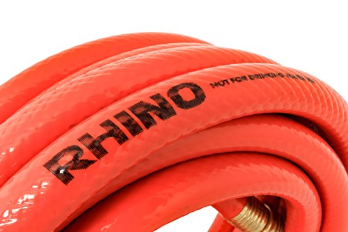 "Camco 22990 RhinoFlex 25' Clean-Out Water Hose for Grey/Black Water Tanks (5/8"" ID)"