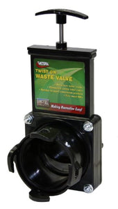 Valterra T58 Twist-On Waste Valve