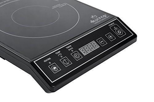 Secura 9100MC 1800W Portable Induction Cooktop Countertop Burner, Black