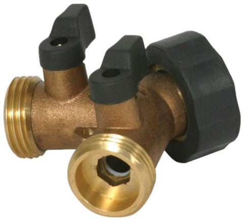 Camco 20123 Brass Water Wye Valve