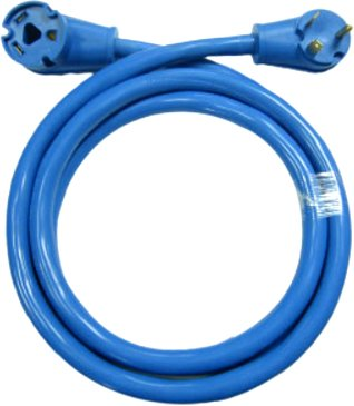 Conntek 14361 30A RV Extension Cord, Blue (25-Feet)