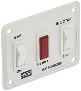 Suburban 232882 Water Heater Wall Switch Assembly - White