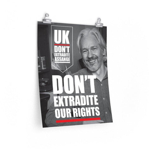 UK Don't Extradite Our Rights - Poster