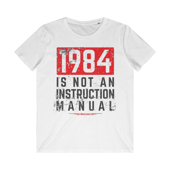 1984 Is Not an Instruction Manual - Men's Organic Tee
