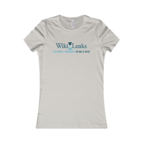 WikiLeaks Supporter's - Women's Favourite Tee