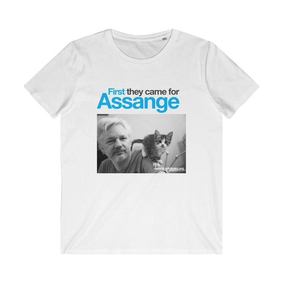 First They Came for Assange - Men's Organic Tee