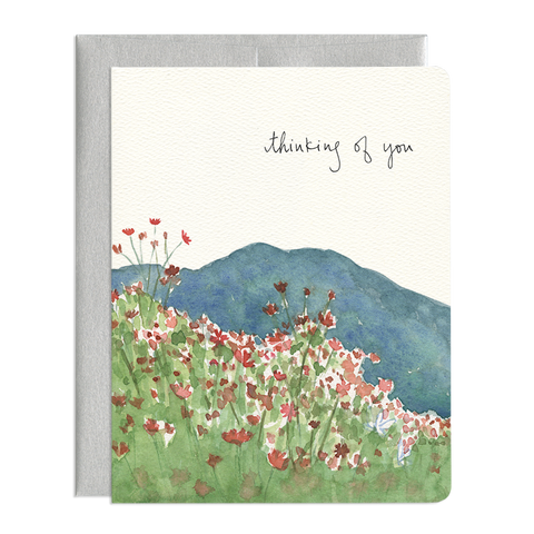 COSMOS THINKING OF YOU CARD