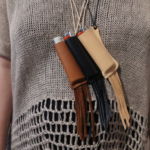 Fringe Lighter Pouch
