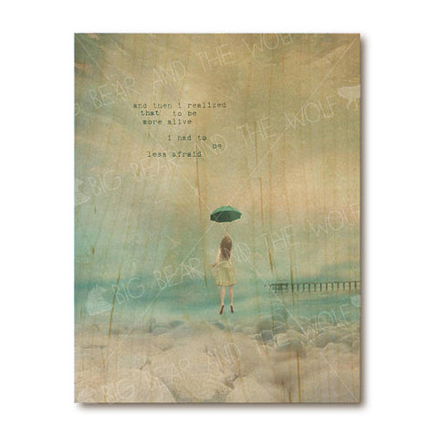 Lucid Dreaming Wooden Art Print