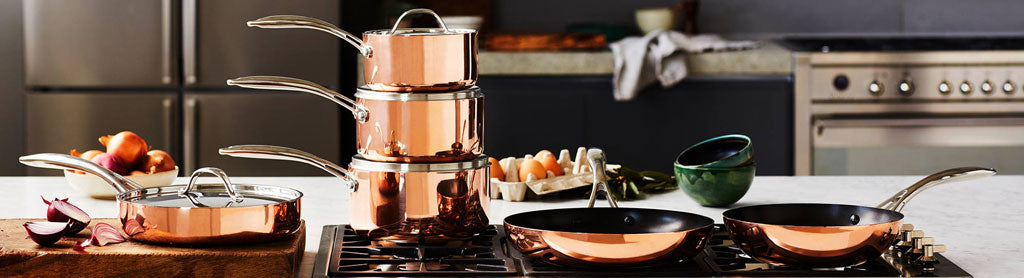 Copper Tr-Ply Cookware