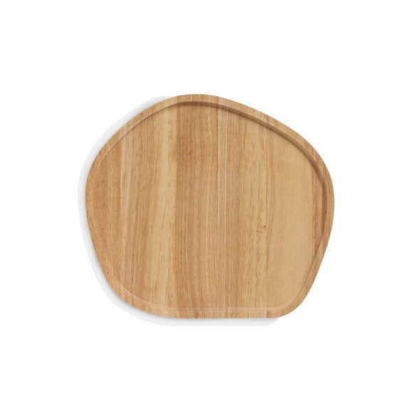 Wooden Serving Platter Round Medium