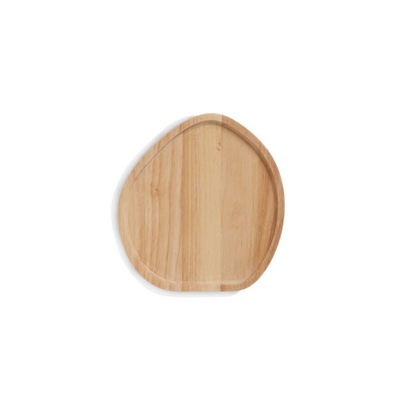Wooden Serving Platter Round Small