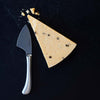 Pistol Grip Stainless Steel Hard Cheese Knife