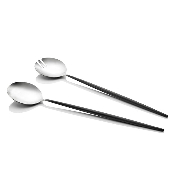 Piper Black Salad Servers 2 Piece Set