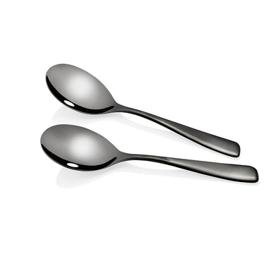 Soho Onyx Serving Spoons 2 Piece Set