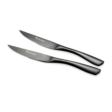 Soho Onyx Steak Knives 4 Piece Set