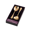 Chelsea Gold Salad Fork and Spoon 2 Piece Set