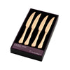Chelsea Gold Steak Knives 4 Piece Set