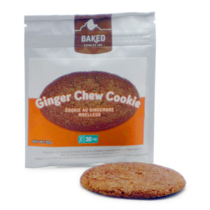 Baked Ginger Chew Cookie - 30mg