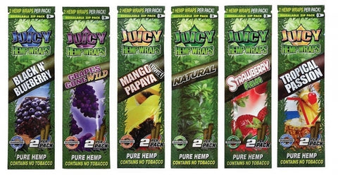 Juicy Hemp Wraps - 2 pack