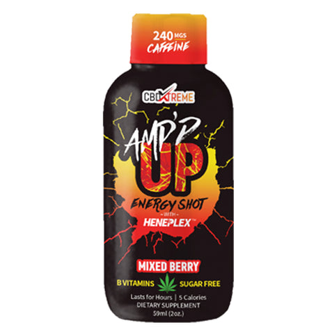 CBD Energy Shot - Amp'd Up