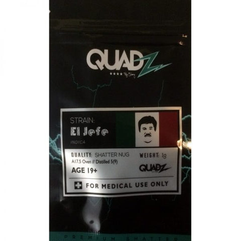 El Jeffe Shatter by Quadz