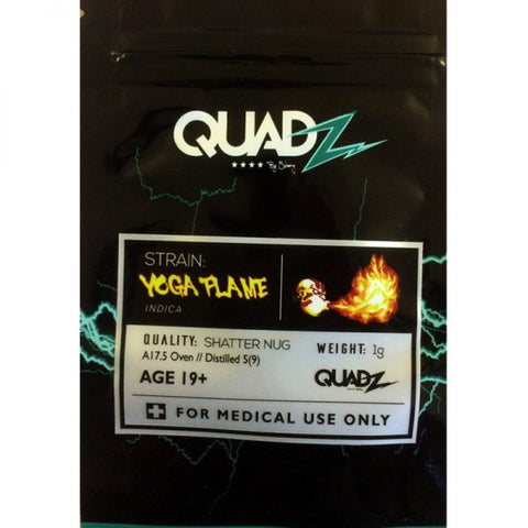 Yoga Flame Shatter by Quadz