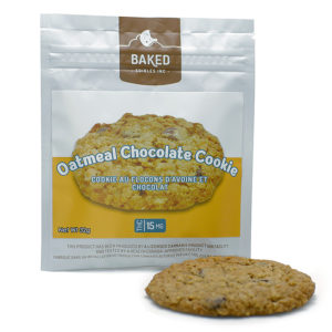 Baked Oatmeal Chocolate Cookie - 15mg