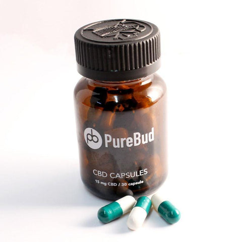 PureBud CBD Pills - Single 15mg pill