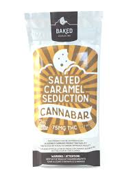 Baked Cannabar Salted Caramel - 75mg