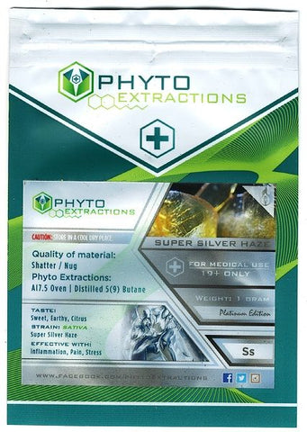 Super Silver Haze Sativa by Phyto Extractions