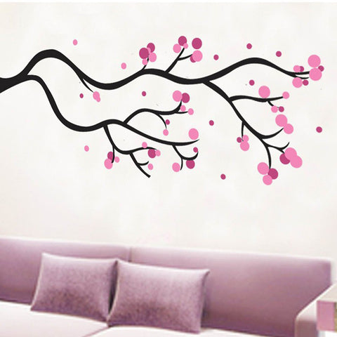 CHERRY BLOSSOM Branch, Nursery / Kids Removable Wall Sticker Wall Art  wall decals