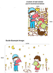 FREE Wall Sticker , Good night Kids Wall Sticker Wall Art  wall decals