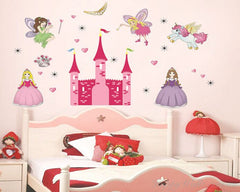 Princess Castle Kids / Nursery wall decals Removable Wall Sticker