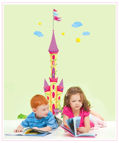 Castle Kids / Nursery wall decals Removable Wall Sticker