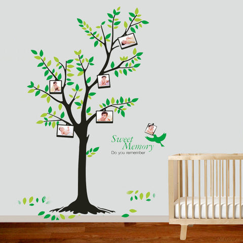 COT Side Tree Removable Wall sticker  HM Wall decal Mural