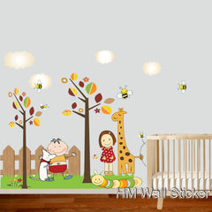 Kids / Nursery wall decals Removable Wall Sticker