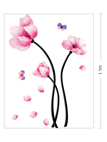 Floral Removable Wall decals Wall Sticker