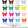 Image of Personalised Named & Fairy, Butterflies Removable Kids Wall Sticker