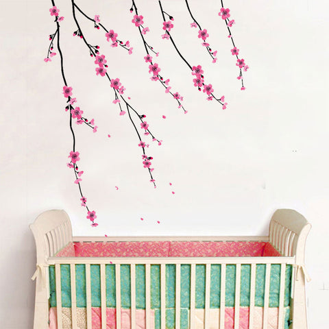 CHERRY BLOSSOMS Removable Wall decals Wall Sticker