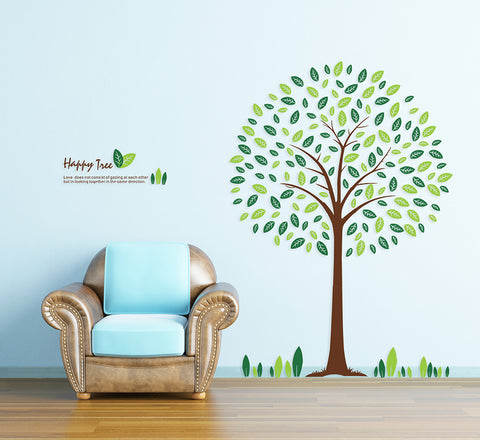 Tree removable wall decal for home or business