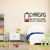 "Image of ""CHARGING"" HM Decal Removable Wall Decal"
